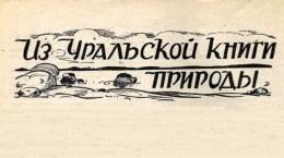 Из Уральской книги природы