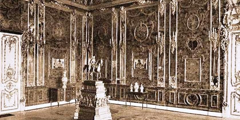 Приключения янтарной комнаты