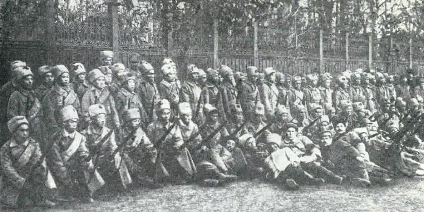 Китайские добровольцы на Урале