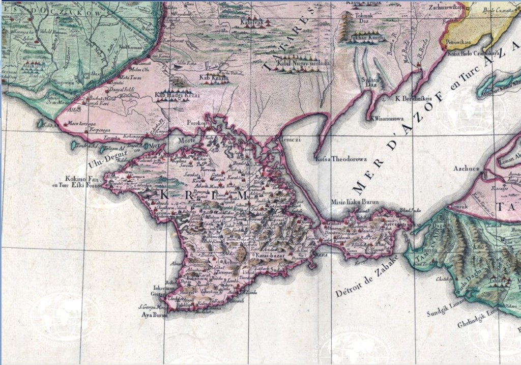 Krim_map_1777 КрымНаш17