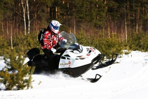 Ледовый штурм - снегоходный маршрут