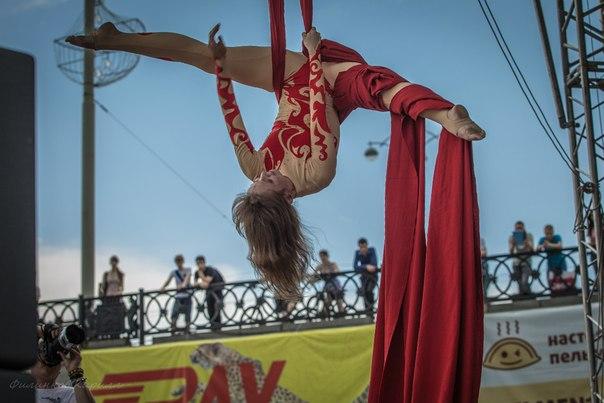 воздушная гимнастика Майский экстрим
