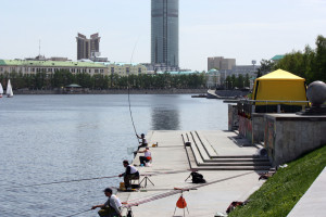 Майский экстрим. Рыболовные состязания на поплавочную удочку