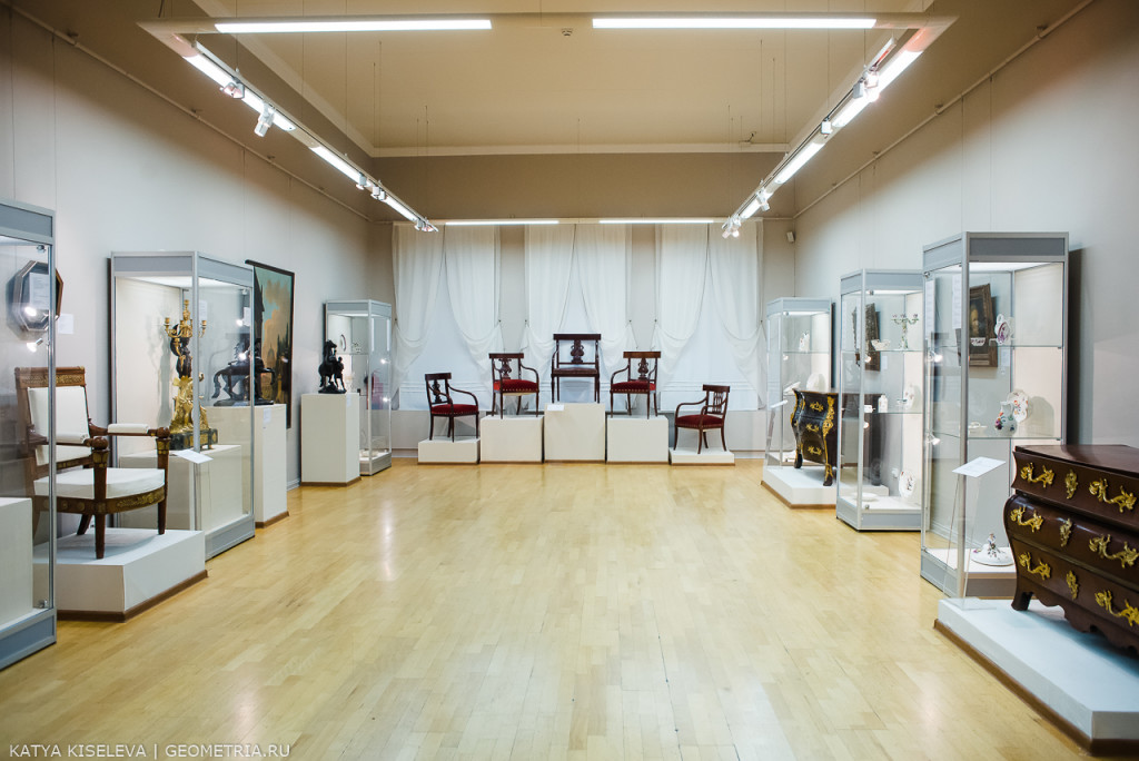 Выставка Послевоенный дар Эрмитажа ЕМИИ