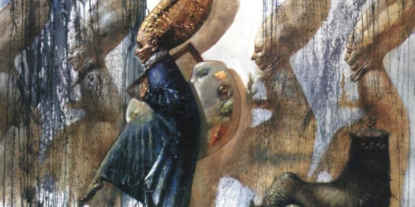 """Несколько слов об армянской живописи """"Эпохи перемен"""""""