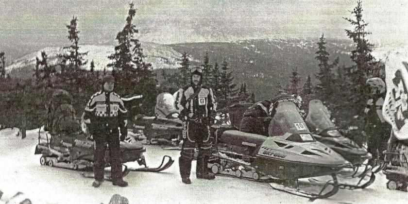 Траверс на снегоходах