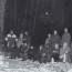 Долговременный костёр в условиях зимнего леса