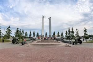 1 сталкер-66, День Героев. Памятники ветеранам ВОВ