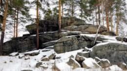 Cеверные Шабровские каменные палатки