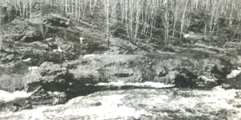 Бекленищевские скалы (Ревун)