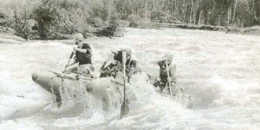 Как мы сплавлялись по Сакмаре