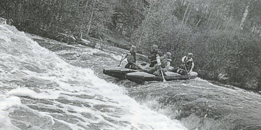Выбор маршрута и комплектование групп в водном походе