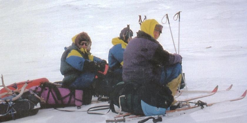 Организация безопасности в лыжном горном походе