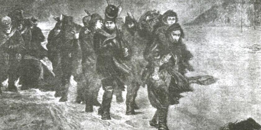 Бородино туринских ополченцев