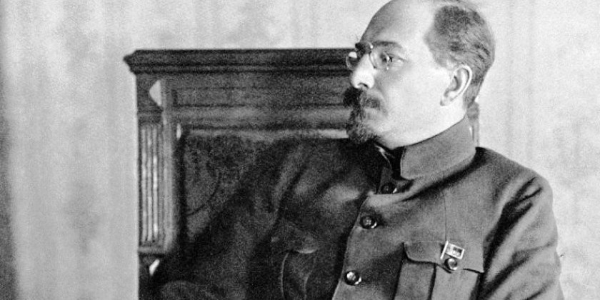 Луначарский говорит с Уралом