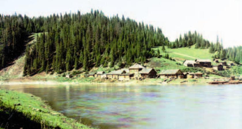 История России. Река Чусовая. Поселок Усть-Койва