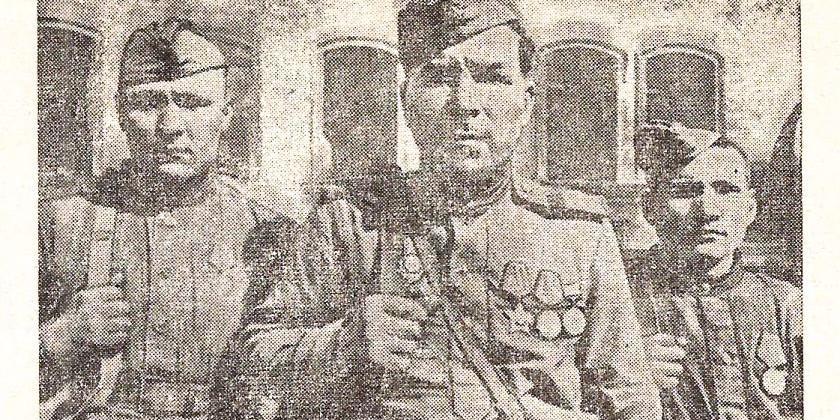 Герой Афанасий Стенников