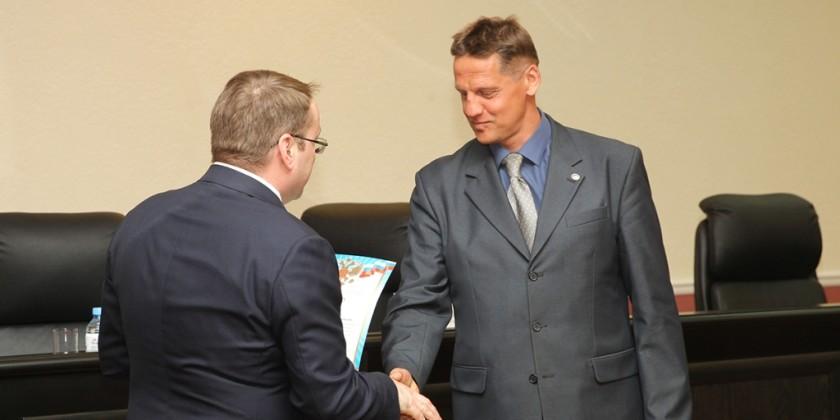 _год экологии министр вручает грамоту