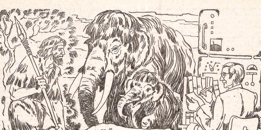 Как жил мамонтёнок Дима