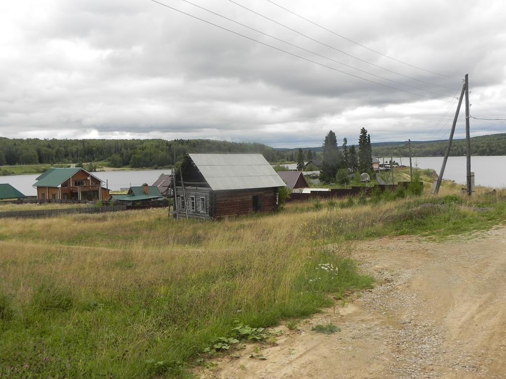 Улица Центральная деревни Усть-Шалашной