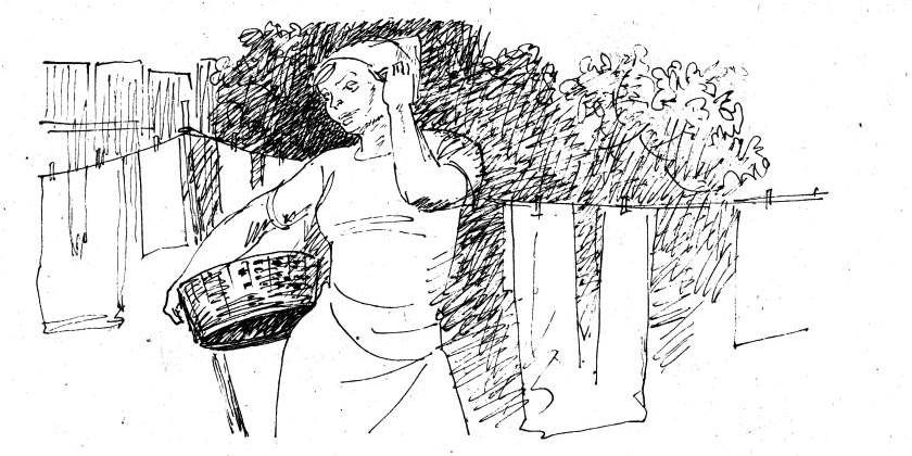 Уборщица и Гаянэ