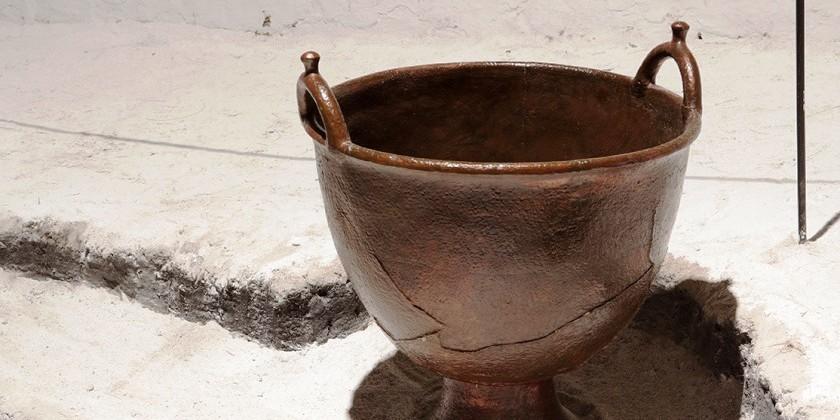 Найдено в Темирском кургане