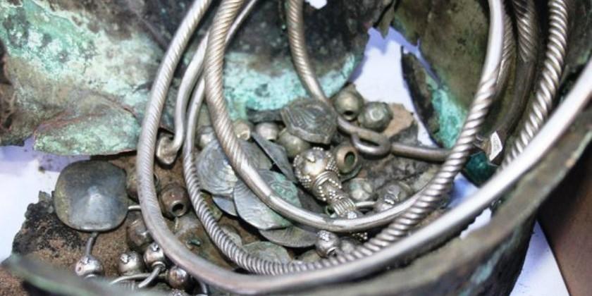 Серебряные клады Урала