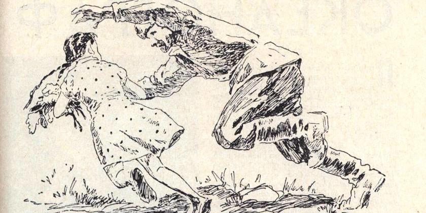 Букет черёмухи