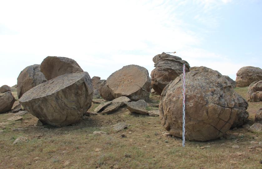 Старые конкреции Долины Шаров