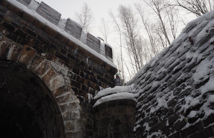 Клад Колчака и пулеметные доты в Дидинском туннеле