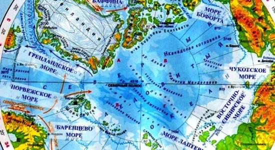 ДеньГероев19. Моря Северного Ледовитого океана
