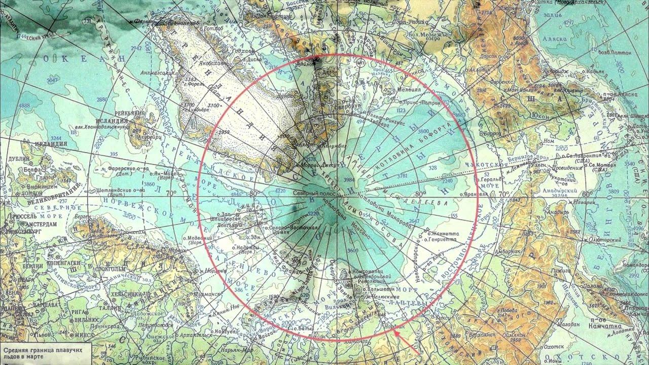 ДеньГероев19. Географическая карта глубин и высот
